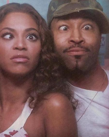 Beyonce and her stylist friend Ty Hunter