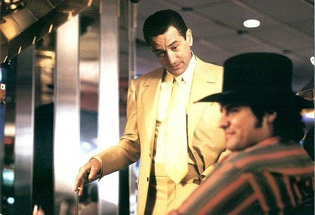 "Robert Deniro and Craig Vincent in ""Casino"""