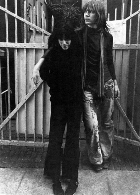 Patti Smith and Jim Carroll