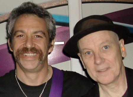 Mike Watt and Brendan Mullen